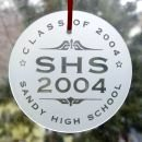 Personalized Graduation Sun Catcher